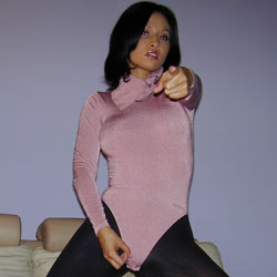 Jo instructor that humiliates small cocks  lana towers over you in a bodysuit and black cotton tights and belittles you about your petite cock. Lana towers over you in a bodysuit and black cotton tights and belittles you about your delicate dick.