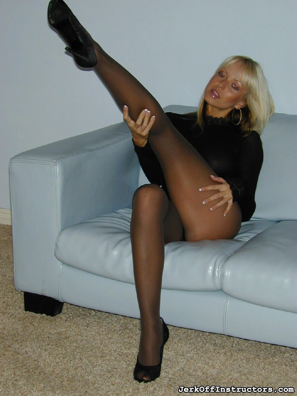 "Little cock 60  in a black body suit and black pantyhose jana cova towers over you quotare you playing with your little cockquot she teases. In a black anatomy suit and black pantyhose, Jana Cova towers over you, ""Are you playing with your little dick?"" She teases."