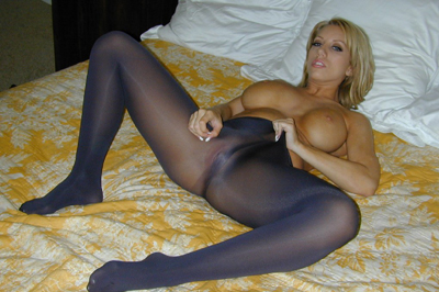 Heather summers  hot body. Heather Summers shows off her body, smoothing her delicate hands up her long legs, pulling on the tight nylon.